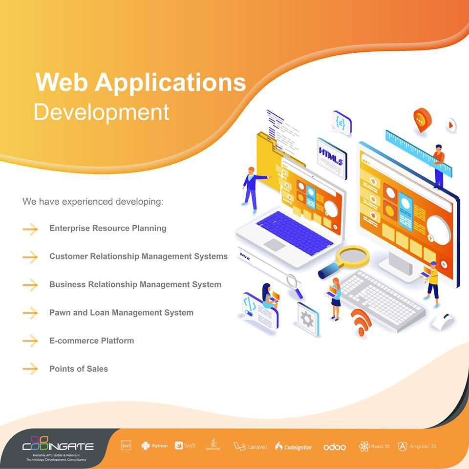 Web Application Development | Codingate - Web and Mobile Application